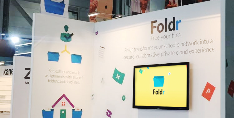 Free Your Files, A Foldr Exhibition Motion Graphic Story!