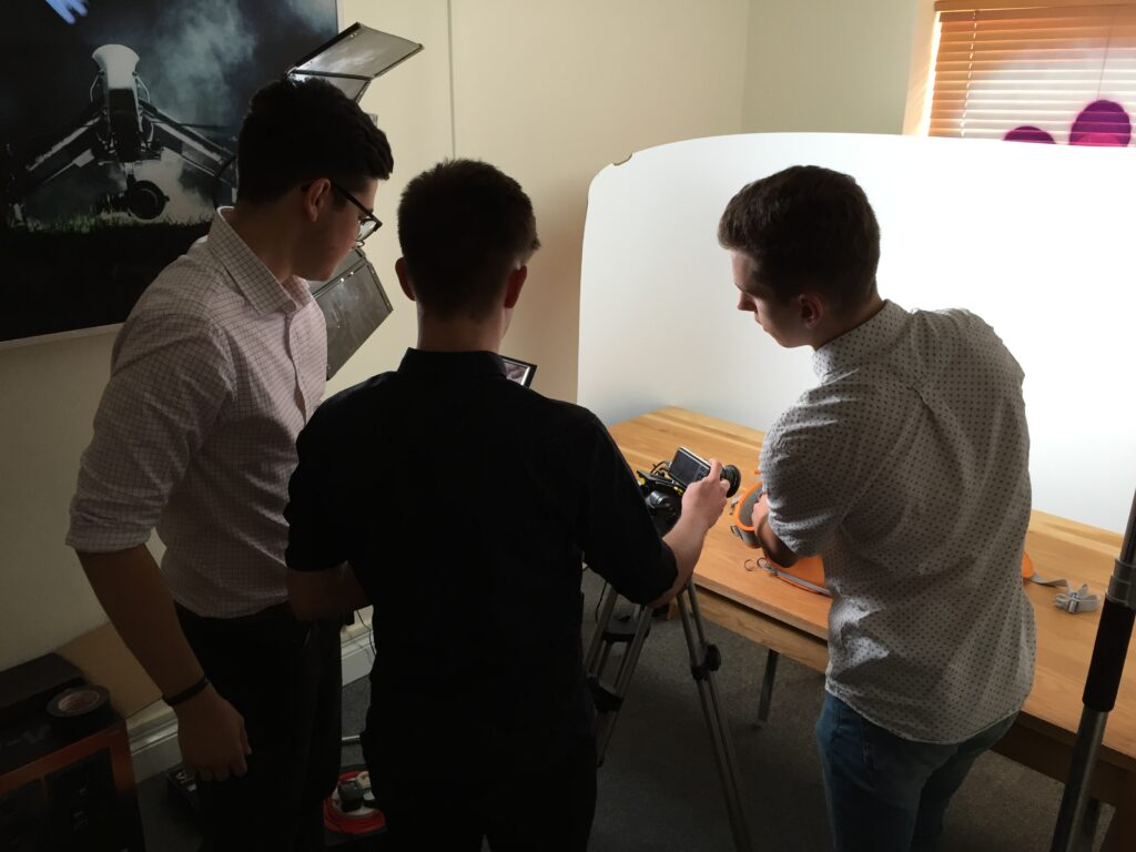Harry, Alex & Joe Work Experience