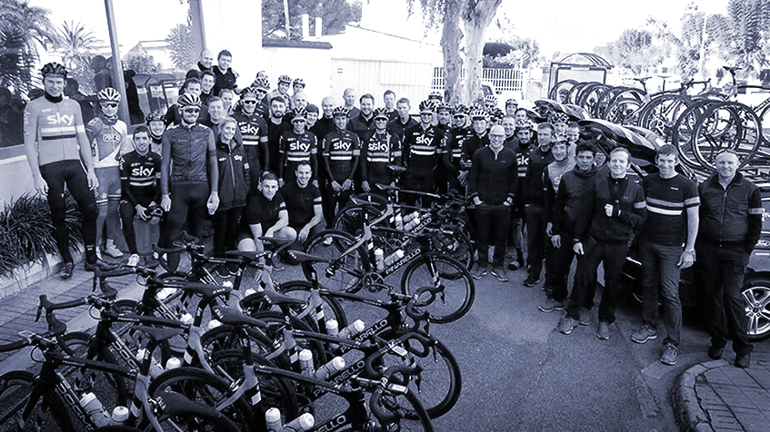 Team Sky Winter Camp