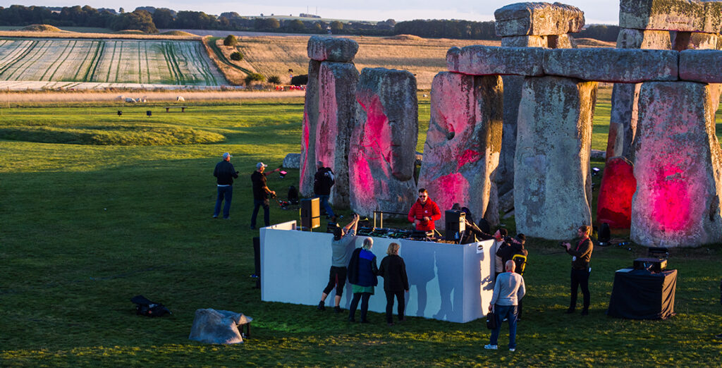 Project Focus: Paul Oakenfold & Carl Cox, Stonehenge