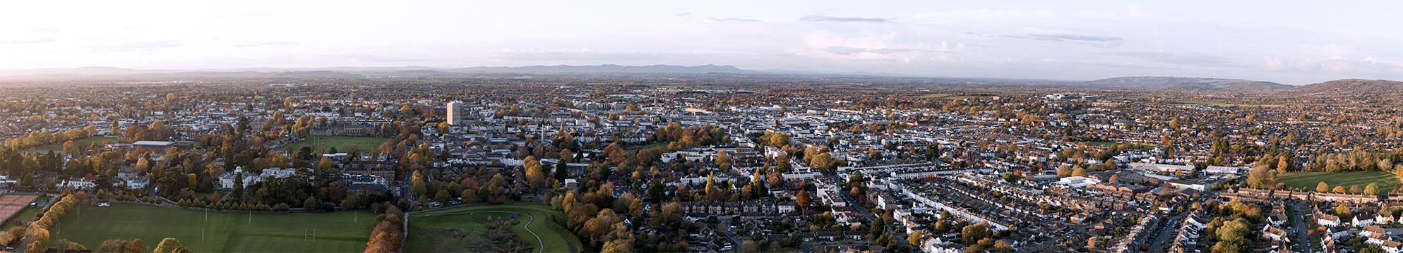 Cheltenham_drone_image